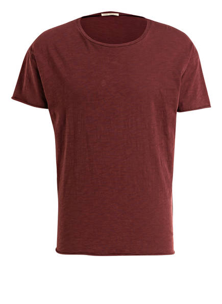 Nudie Jeans T-Shirt ROGER , Farbe: BORDEAUX (Bild 1)