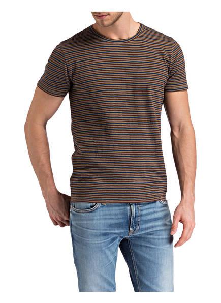 Nudie Blau Beige Anders T shirt Braun Jeans nrxr8gUqTA