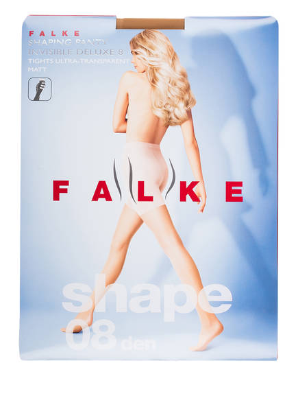 4069 Powder Invisible Den 8 Feinstrumpfhose Deluxe Falke Panty Shaping qRORw4