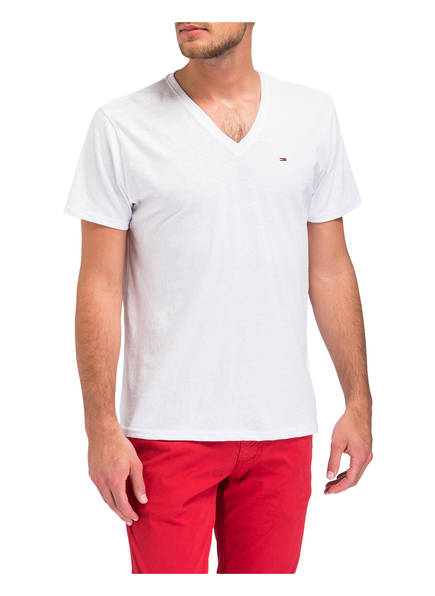Tommy T Jeans T Weiss Weiss Jeans Weiss Jeans shirt shirt T Tommy Tommy shirt Tommy qBtnnI1AZ