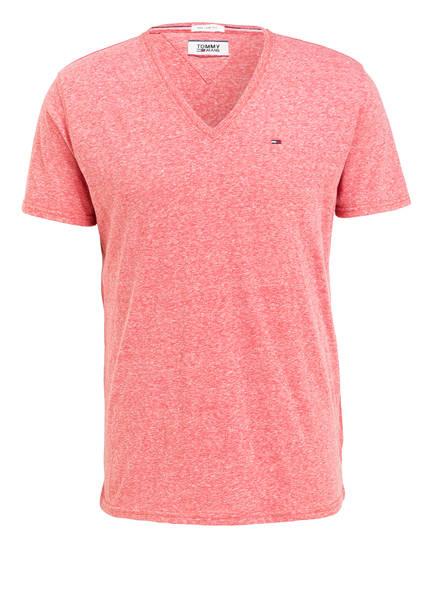 TOMMY JEANS T-Shirt, Farbe: HELLROT MELIERT (Bild 1)