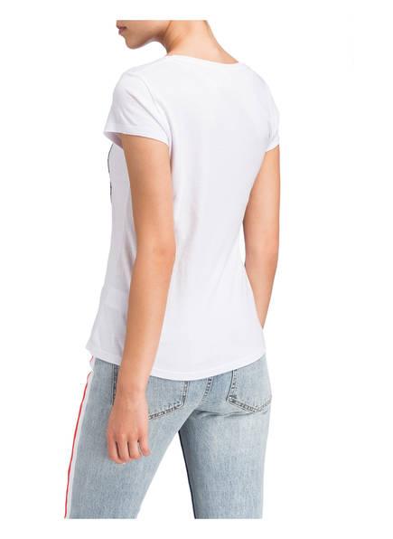 T Largo Weiss Wendepailletten Key Mit shirt xO1fR