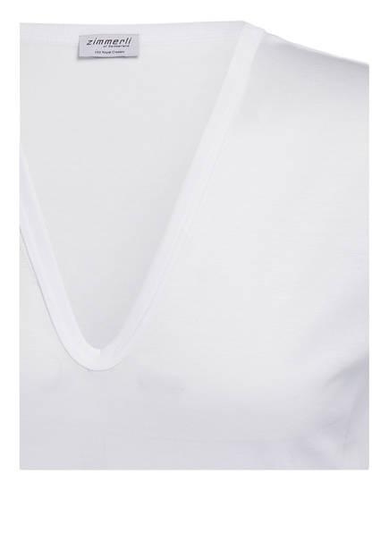 V Zimmerli Royal Weiss shirt Classic aABxqd
