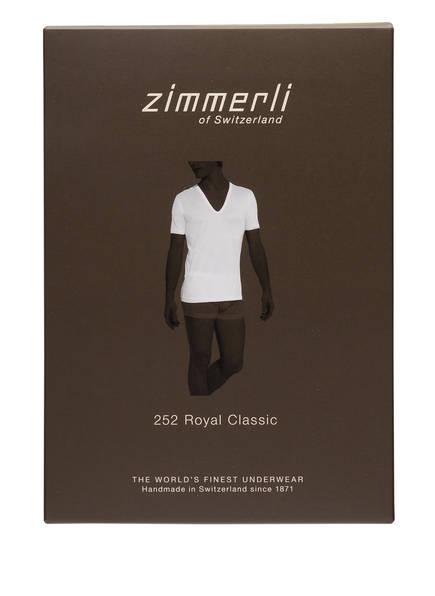 V Weiss Classic Zimmerli shirt Royal pIwxdpXn1q