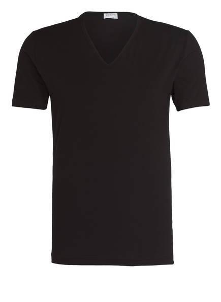 zimmerli T-Shirt PURE COMFORT, Farbe: SCHWARZ (Bild 1)