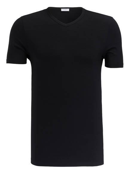 zimmerli V-Shirt PURENESS, Farbe: SCHWARZ (Bild 1)