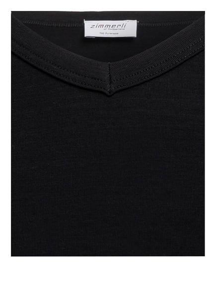 Zimmerli V Pureness Zimmerli shirt Schwarz V 8rU0q8