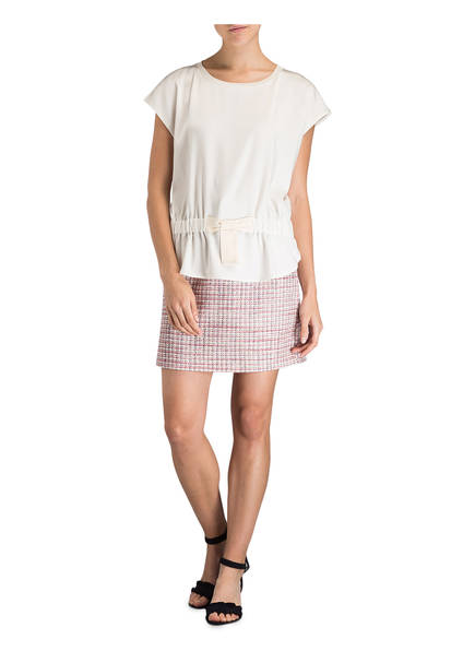shirt Claudie Pierlot Leinen Tamila Ecru wrYrdExz