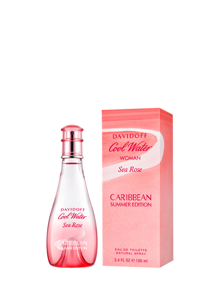 Davidoff COOL WATER SEA ROSE CARIBBEAN  SUMME (Bild 1)