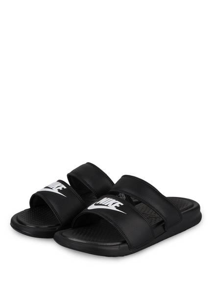 Nike Sandalen BENASSI DUO , Farbe: SCHWARZ (Bild 1)