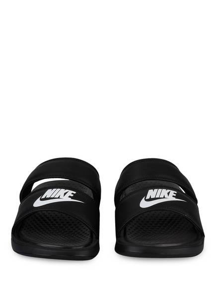 Sandalen Nike Nike Duo Benassi Schwarz Sandalen Schwarz Benassi Nike Sandalen Benassi Duo S68xErSw