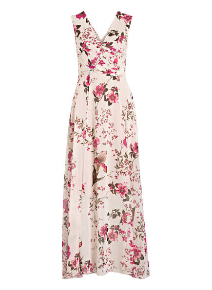 RINASCIMENTO Chiffon-Kleid , Farbe: FUCHSIA/ DUNKELGRÜN/ CREME (Bild 1)