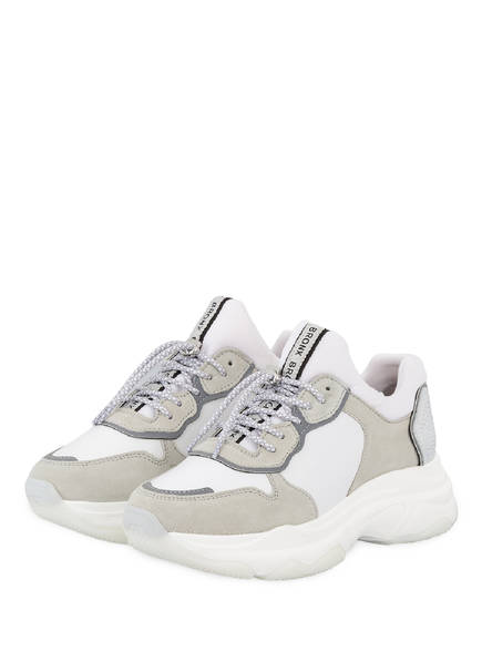 BRONX Plateau-Sneaker, Farbe: WEISS (Bild 1)