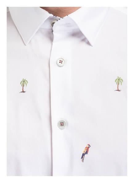 Slim Parcoop hemd Fit Weiss Baker Ted Halbarm qtEwAIpO