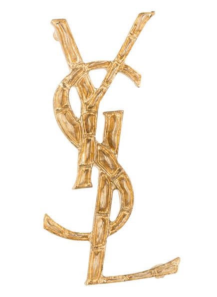 SAINT LAURENT Brosche OPYUM, Farbe: GOLD (Bild 1)