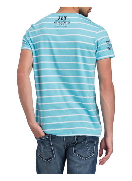 shirt Sky T Gestreift David Weiss Camp Hellblau Sailor qO67vWwA