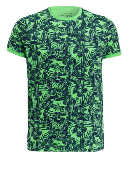EB Company T-Shirt, Farbe: HELLGRÜN/ DUNKELBLAU (Bild 1)