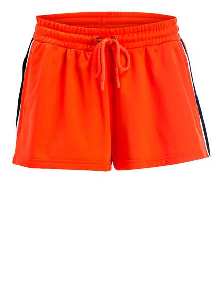 PUMA Shorts, Farbe: ORANGE/ SCHWARZ/ MINT (Bild 1)