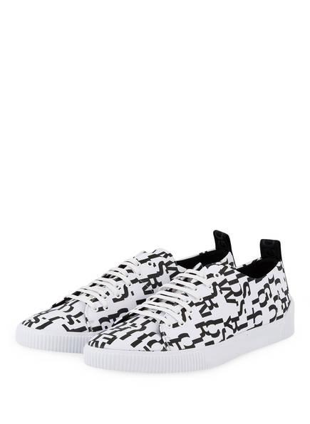 HUGO Sneaker ZERO, Farbe: WEISS/ SCHWARZ (Bild 1)