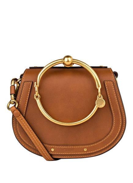 Chloé Handtasche NILE BRACELET SMALL , Farbe: CARAMEL (Bild 1)