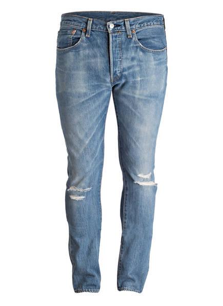 destroyed jeans 501 skinny fit von levi\u0027s� bei breuninger kaufen  levi\u0027s� destroyed jeans 501 skinny fit, farbe 0042 single player warp (bild