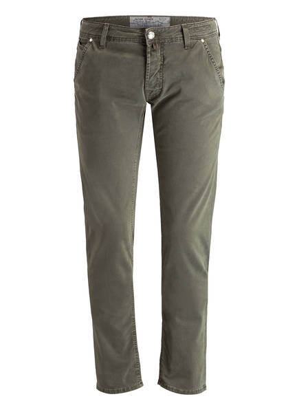 JACOB COHEN Jeans Slim Fit, Farbe: OLIV (Bild 1)