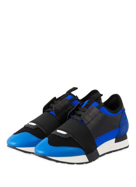 BALENCIAGA Sneaker RACE RUNNERS, Farbe: BLAU/ SCHWARZ (Bild 1)