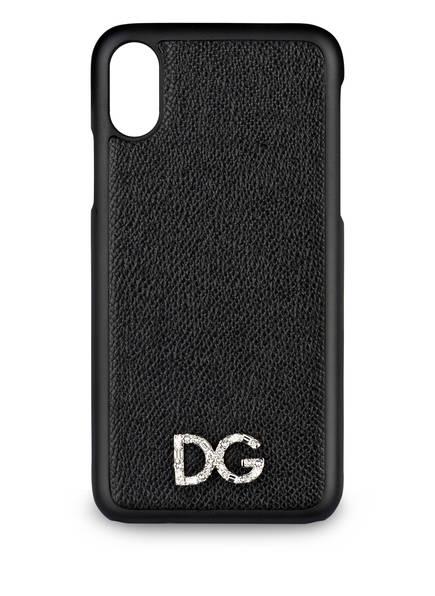 DOLCE&GABBANA iPhone-Hülle, Farbe: SCHWARZ (Bild 1)