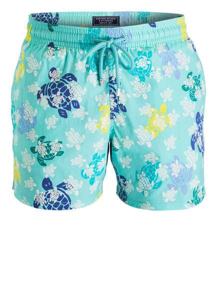 Turtle Vilebrequin Mint Badeshorts Blau Creme Xwq1Rw
