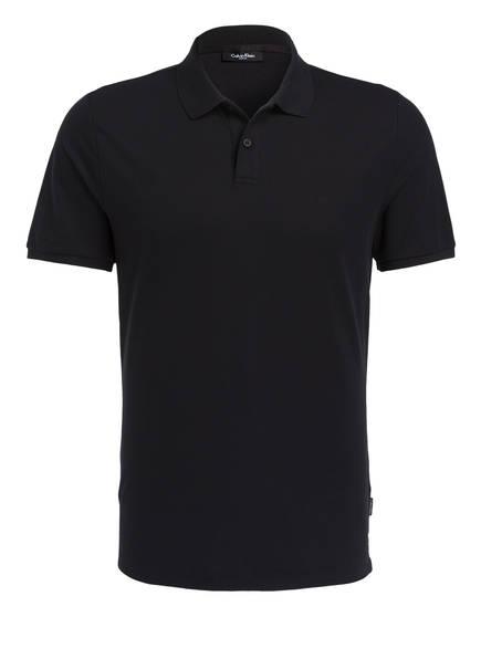 Calvin Klein Piqué-Poloshirt JACOB, Farbe: SCHWARZ (Bild 1)
