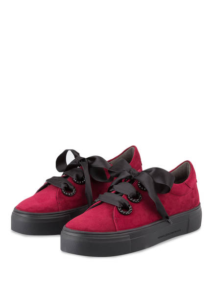 KENNEL & SCHMENGER Plateau-Sneaker BIG , Farbe: DUNKELROT (Bild 1)