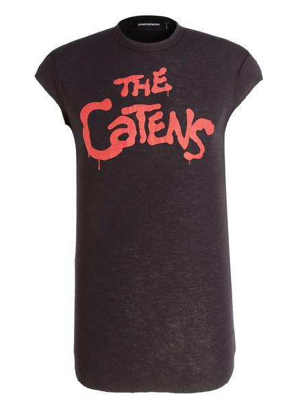 DSQUARED2 T-Shirt aus Schurwolle, Farbe: SCHWARZ (Bild 1)