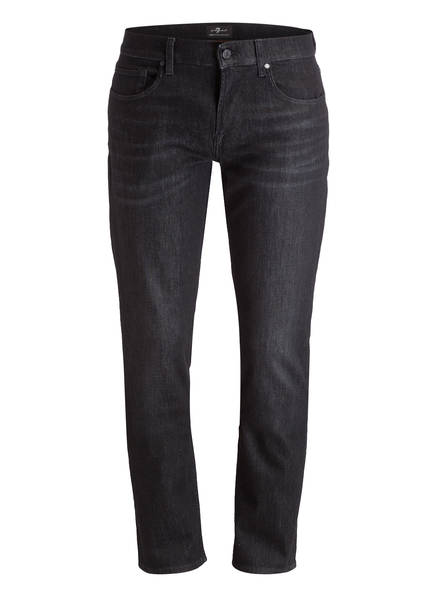 7 for all mankind Jeans SLIMMY LUX PERFORMANCE Slim Fit, Farbe: PS Washed Black (Bild 1)