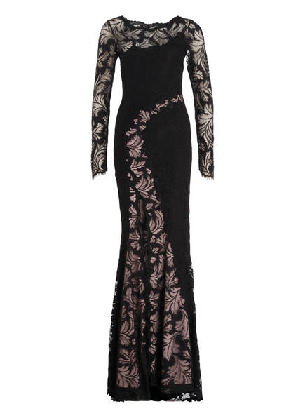 OLVI'S Abendkleid, Farbe: SCHWARZ/ NUDE (Bild 1)