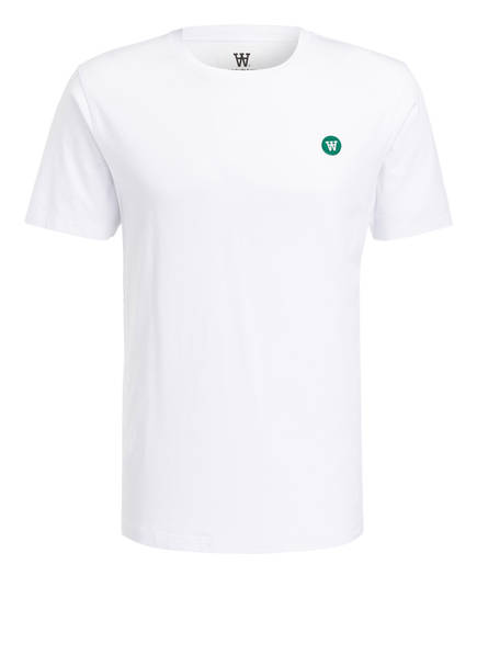 WOOD WOOD T-Shirt ACE, Farbe: WEISS (Bild 1)
