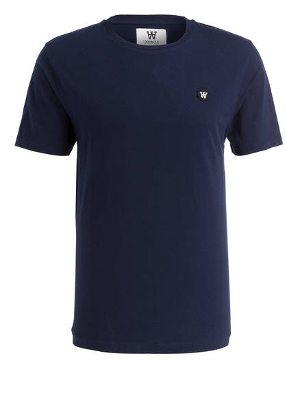 WOOD WOOD T-Shirt ACE, Farbe: DUNKELBLAU (Bild 1)