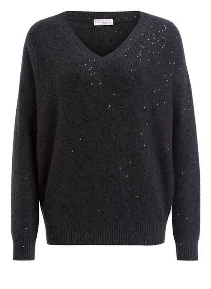 BRUNELLO CUCINELLI Cashmere-Pullover, Farbe: ANTHRAZIT  (Bild 1)