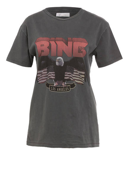 ANINE BING T-Shirt , Farbe: DUNKELGRAU (Bild 1)
