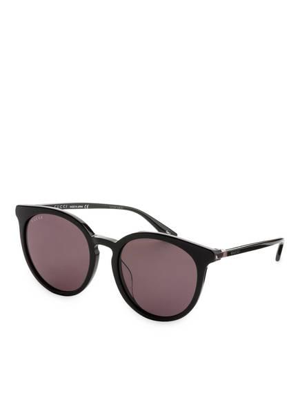 GUCCI Sonnenbrille GG0064SK, Farbe: 001 - SCHWARZ/ SCHWARZ  (Bild 1)