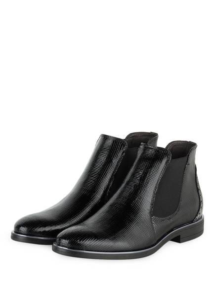 Schwarz boots Chelsea Darling Silber Harbour nqaHFn6A