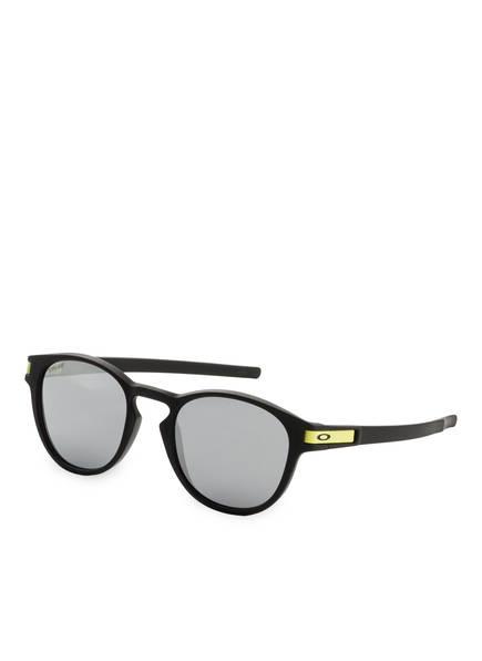 OAKLEY Sonnenbrille LATCH , Farbe: 926521 - SCHWARZ/ GRAU VERSPIEGELT (Bild 1)