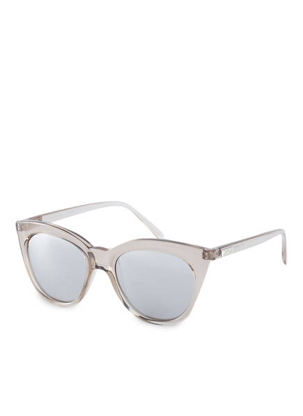Le Specs Sonnenbrille HALFMOON MAGIC, Farbe: STEIN/ SILBER VERSPIEGELT (Bild 1)