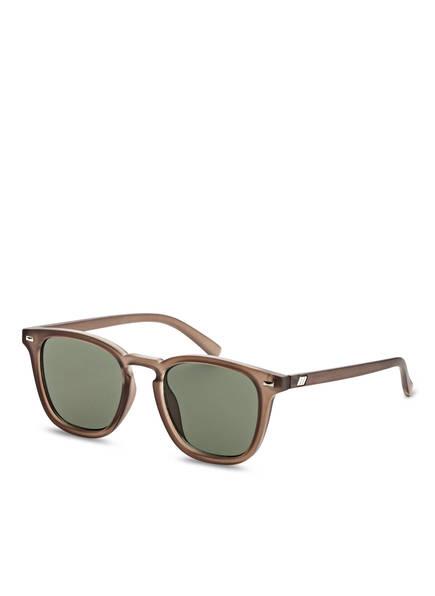 Le Specs Sonnenbrille NO BIGGIE, Farbe: BRAUN/ KHAKI  (Bild 1)