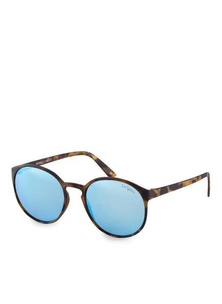 Le Specs Sonnenbrille SWIZZLE, Farbe: TORTOISE/ BLAU VERSPIEGELT (Bild 1)