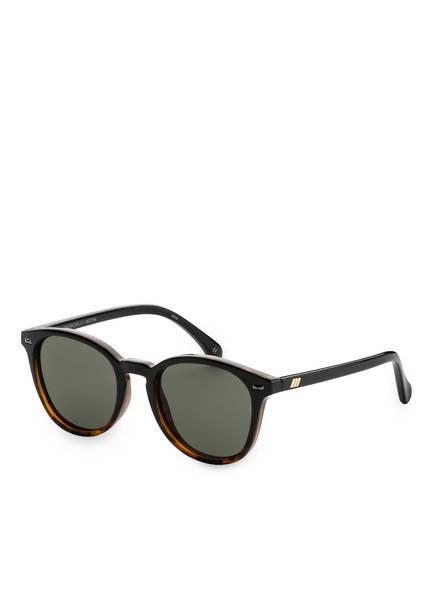 Le Specs Sonnenbrille BANDWAGON, Farbe: TORTOISE/ GRÜN POLARISIERT (Bild 1)