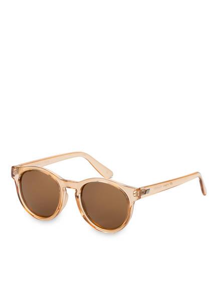 Le Specs Sonnenbrille HEY MACARENA, Farbe: HELLBRAUN/ BRAUN POLARISIERT (Bild 1)