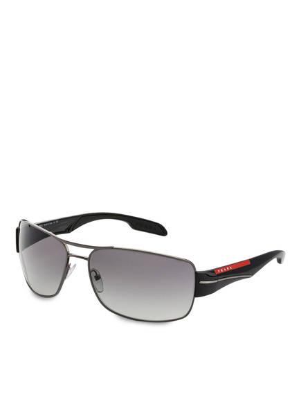 PRADA LINEA ROSSA Sonnenbrille PS 53NS, Farbe: 5AV3M1 - SCHWARZ/ GRAU VERLAUF (Bild 1)
