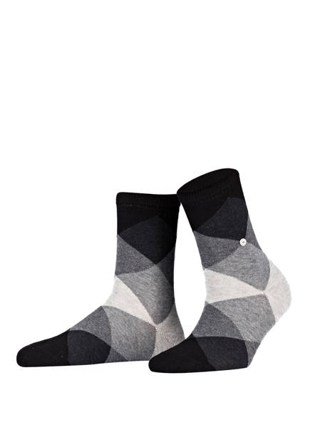 Burlington Socken BONNIE, Farbe: 3000 BLACK (Bild 1)