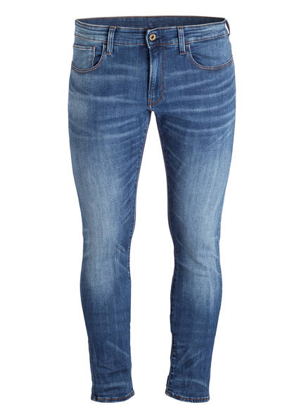 G-Star RAW Jeans 3301 Skinny Fit, Farbe: 6028 MEDIUM INDIGO AGED  (Bild 1)