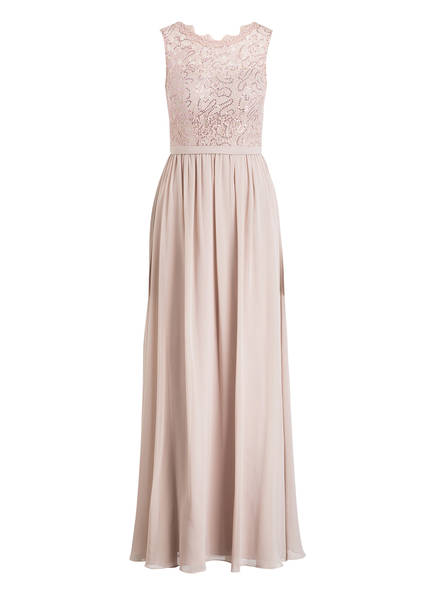 unique Abendkleid, Farbe: ROSÉ (Bild 1)